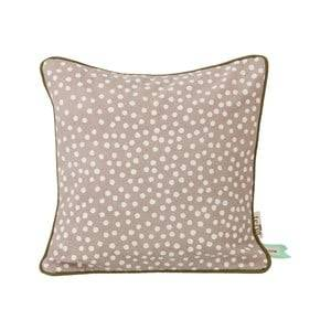 ferm LIVING Unisex Textile Grey Dots Cushion - Grey