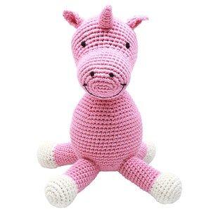 natureZOO Unisex Soft toys Pink Miss Unicorn Music Box Mobile
