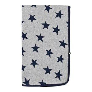 Image of Molo Unisex Textile Grey Niles Blanket Casino Star Print