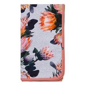 Image of Molo Unisex Textile Pink Neala Blanket Sugar Flowers