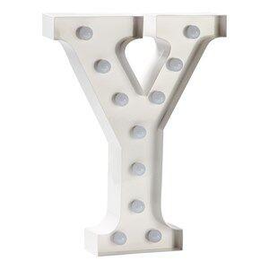 Sweetlights Unisex Lighting White Letter Y Mini Marquee Lights White