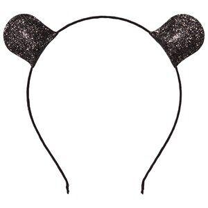 Image of Petit by Sofie Schnoor Girls Hair accessories Black Hairband Glitter Black