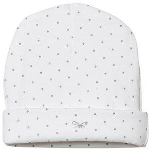 Livly Unisex Winter sets White Saturday Ninni Hat White/silver Dots