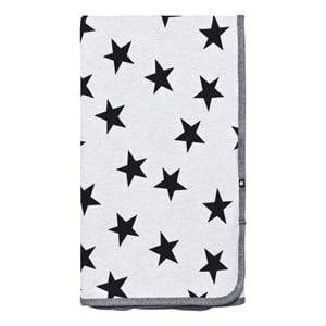 Image of Molo Unisex Textile Black Niles Blanket Black Star Print