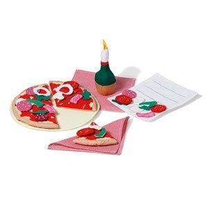 oskar&ellen; Unisex Role play Red Pizza Firenze Restaurant Set
