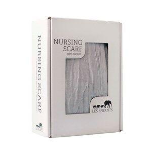 Les Enfants Unisex Norway Assort Textile Grey Nursing Scarf Grey