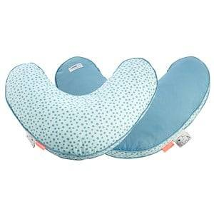 Done by Deer Unisex Breast feeding Blue Happy Dots Nursery Pillow Blue