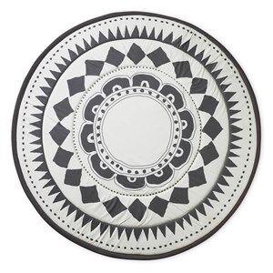 Elodie Details Unisex Textile Black Play Mat Graphic Devotion
