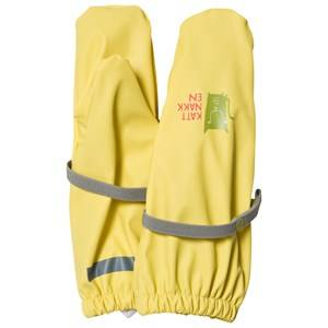 Kattnakken Unisex Gloves and mittens Yellow Rain Mittens Yellow