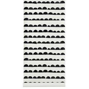 ferm LIVING Unisex Home accessories Black Half Moon Wallpaper - Black