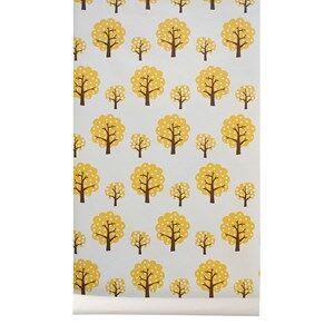 ferm LIVING Unisex Home accessories Yellow Dotty Wallpaper - Yellow