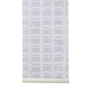 ferm LIVING Unisex Home accessories Grey Rush Hour Wallpaper - Grey