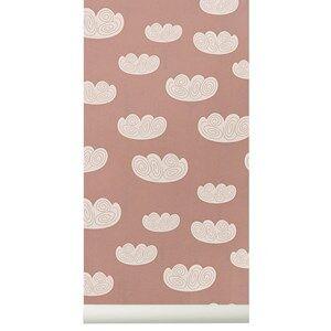 ferm LIVING Unisex Home accessories Pink Cloud Wallpaper - Rose