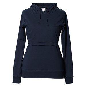 Boob Girls Maternity jumpers & cardigans Blue B·Warmer Hoodie Midnight Blue