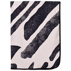 Koolabah Girls Textile Pink Black Lines Blanket Pink/Black