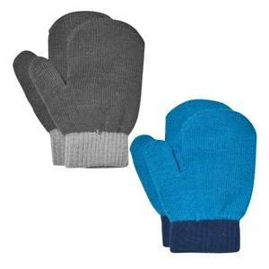 Image of Lindberg Unisex Gloves and mittens Multi Lanna Magic Mittens Black And Blue