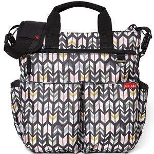 Skip Hop Unisex Bags Grey Duo Signature Diaper Bag Arrows