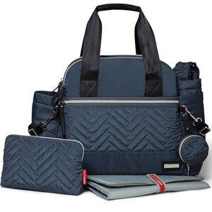 Skip Hop Unisex Bags Grey Suite Diaper Satchel Steel Grey