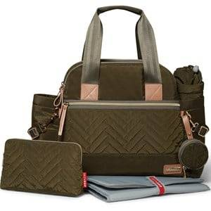 Skip Hop Unisex Norway Assort Bags Green Suite Diaper Satchel Olive
