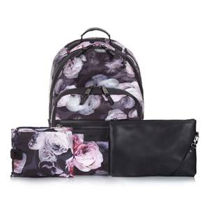 Tiba + Marl Girls Changing and travel bags Black Elwood Backpack Goth Floral