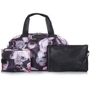 Tiba + Marl Girls Changing and travel bags Black Raf Holdall Bag Goth Floral