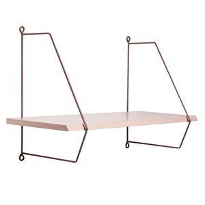 Done by Deer Girls Furniture Pink Wall Shelf Powder
