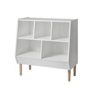 Done by Deer Unisex Furniture White Storage Rack, White