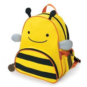 Skip Hop Unisex Norway Assort Bags Yellow Zoo Pack Bee
