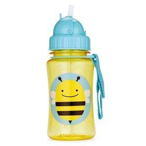 Skip Hop Unisex Norway Assort Tableware Yellow Zoo Straw Bottle Bee