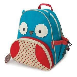 Skip Hop Unisex Norway Assort Bags Blue Zoo Pack Owl