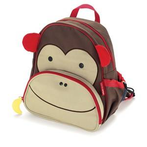 Skip Hop Unisex Norway Assort Bags Brown Zoo Pack Monkey