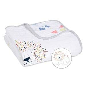 Image of Aden + Anais Unisex Textile White Leader The Pack Classic Dream Blanket