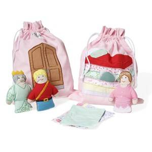 oskar&ellen; Unisex Figurines and playsets Multi Story Bag The Princess And The Pea