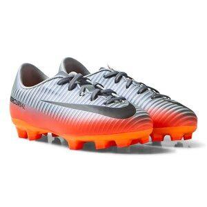NIKE Boys Sport footwear Grey Mercurial Victory VI CR7 FG Cool Grey/MTLC Hematite