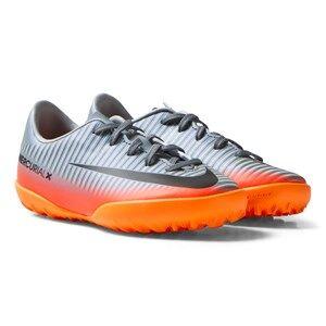 NIKE Boys Sport footwear Grey MercurialX Victory VI CR7 TF Cool Grey/MTLC Hematite