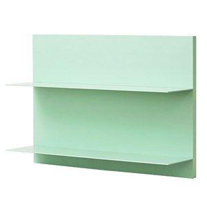 Design Letters Unisex Furniture Green Green Paper Shelf A3