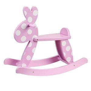 Kids Concept Girls Ride ons and walkers Pink Rocking Rabbit Pink