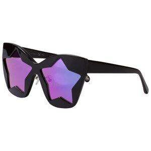 Stella McCartney Kids Girls Eyewear Black Black and Pink Starlens Sunglasses