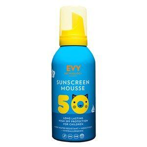 EVY Technology Unisex Camping equipment Blue SPF 50 Kids Sunscreen Mousse – 150 ml