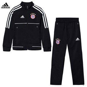 Bayern Munich FC Boys Sporting replica Black Bayern Munich ´17 Junior Training Tracksuit