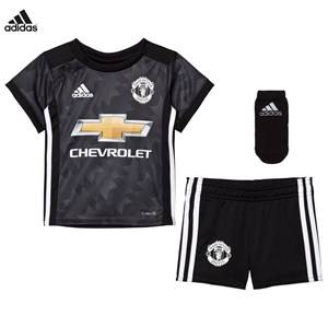 Image of United Manchester United Boys Sporting replica Black Man United ´17 Baby Away Kit
