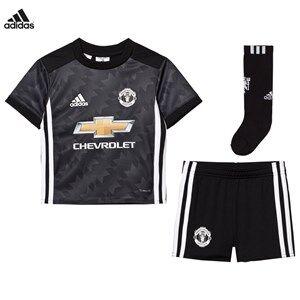 Image of United Manchester United Boys Sporting replica Black Man United ´17 Kids Away Kit