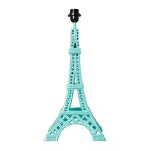 Rice Unisex Lighting Green Metal Eifel Tower Table Lamp Mint