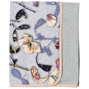 Image of Molo Unisex Textile Grey Neala Blanket Paper Petals Melange