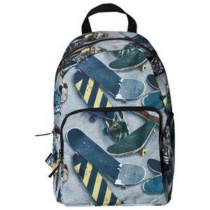 Molo Unisex Bags Grey Big Backpack Skate