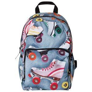 Molo Unisex Bags Blue Big Backpack Roller Skating