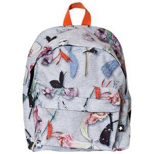 Molo Unisex Bags Grey Backpack Paper Petals Melange