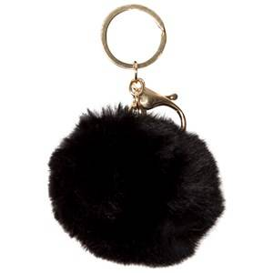 Image of Molo Unisex Jewellery and watches Black Pom pom Keychain Black