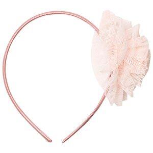 Image of Molo Unisex Hair accessories Beige Pom Pom Headband Cameo Rose