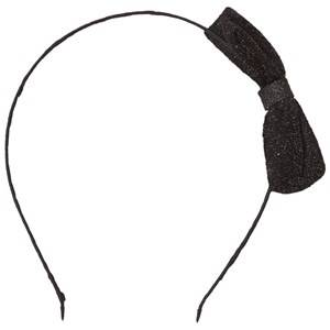 Image of Molo Unisex Hair accessories Black Shimmer Head Band Black